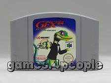 Gex 64 - Enter The Gecko für den Nintendo 64 / N64