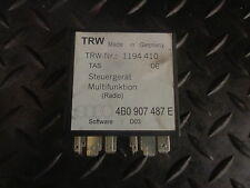 1999 AUDI A6 1.8T MULTIFUNCTION STEERING WHEEL RELAY 4B0907487E