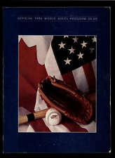 1986 NEW YORK METS VS BOSTON RED SOX  OFFICIAL WORLD SERIES PROGRAM LOT1069