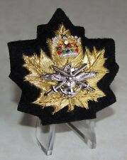 Canada Canadian The New CIC Officer Cadet Instructor Tri-Service  Cap Badge