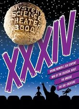 Mystery Science Theater 3000: Xxxiv - 4 DISC SET (2015, DVD NEW)