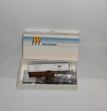 HO WALTHERS 40' WOOD BODIED REEFER W/DREADNAUGHT ENDS MDT/NEW YORK CENTRAL  NIB