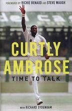 Sir Curtly Ambrose: Time to Talk, Sydenham, Richard, Ambrose, Curtly