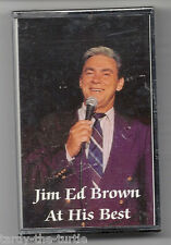 Jim Ed Brown At His Best Cassette 10 Songs