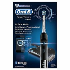 Oral-B Black PRO 7000 CrossAction Cepillo dientes eléctrico recargable Bluetooth