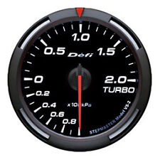 Defi Racer Gauge 60mm Turbo Meter DF11506 White