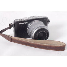 Brown Hand Wrist Strap for Nikon Canon Olympus Panasonic Sony Olympus Samsung