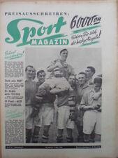 SPORT MAGAZIN KICKER 18A - 3.5. 1950 Arsenal London Pokalsieger-FC Liverpool 2:0