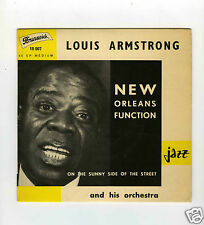 45 RPM SP LOUIS ARMSTRONG NEW ORLEANS FUNCTION