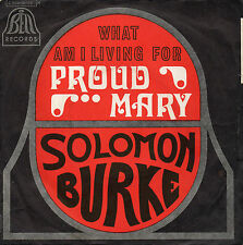 "SOLOMON BURKE. PROUD MARY. RARE FRENCH 7"" 45 1969  SOUL"