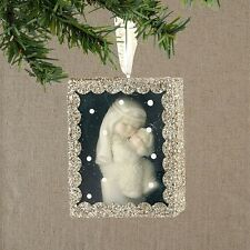 Dept 56 Snowbabies MARY'S BABY SHADOW BOX Ornament Snow Dream 4031871 NEW 2013