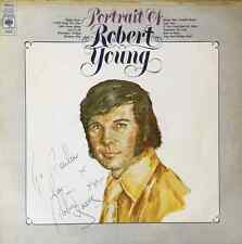 ROBERT YOUNG - Portrait Of Robert Young (LP) (Signed) (EX/G+)