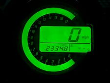 GREEN KAWASAKI Z1000 03-06 LED CLOCK KIT LIGHTENUPGRADE
