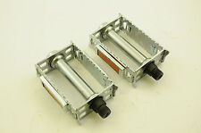 "60's,70's,80's,90's CLASSIC RACING BIKE RAT TRAP 9/16""TYPE STEEL CHROME PEDALS"