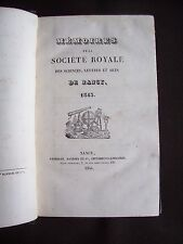 Société des sciences de Nancy 1843
