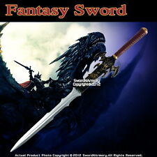 "42"" Foam Padded Fantasy Medieval Long Sword Cosplay Costume Prop LARP New"
