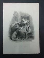 findens tableaux-La 's Daughter Baron-CHIAVE nell'incisione acciaio inox