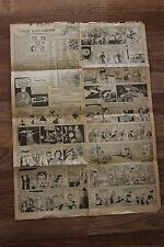 Antique Comic Section of the Fort Wayne News Sentinal Newspaper, May 2nd, 1951