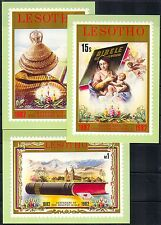Lesotho 1982 Bible/Cathedral/Madonna/Baby Postcards a80