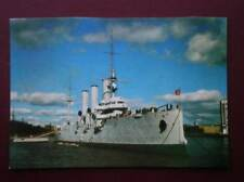 POSTCARD MILITARY VESSELS THE CRUISER AURORA