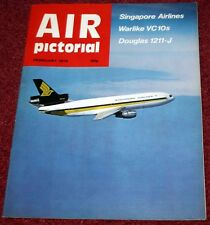 Air Pictorial 1979 February Singapore Airlines,VC10,SAAF