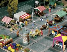 FALLER N SCALE MARKET STANDS AND CARTS | BN | 272533