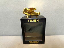 TIMEX COLLECTIBLE MINIATURE CLOCK AIRPLANE MIB