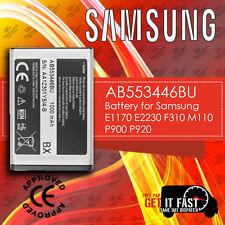 100% Genuine Samsung Battery E1170 E2230 F310 M110 P900 P920 AB553446BU 1000mAh