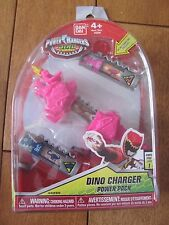 POWER RANGERS #42255 Dino Charger Pink Power Pack #5 & #16 Charger NEW