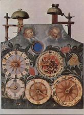 Alte Kunstpostkarte - Historische Uhrensammlung Furtwangen - Astronomische Uhr