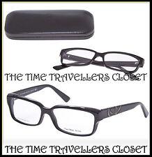 ALEXANDER MCQUEEN Designer Rectangle Black Optical Frames, Case & Cloth RRP £225