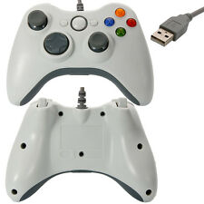 Wired Xbox 360 USB Remote Controller for PC Windows Computer White US