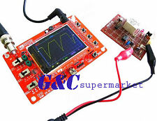 """DSO138 2.4"""" TFT Digital Oscilloscope Kit DIY parts ( 1Msps ) with probe + case"""