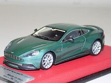1/43 Tecnomodel Aston Martin Vanquish Almond Green 2013 Leather Base #35/35