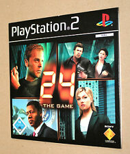 24 The Game promo Demo Disc DVD