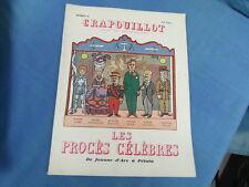 LE CRAPOUILLOT 26 / AOUT 1954 / LES PROCES CELEBRES JEANNE D ARC A PETAIN