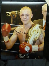 Jamie Moore  Signed 12x16 Boxing Photograph : D