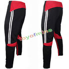 Men's Football Soccer Training Pants Sweat Sport Gym Athletic Casual Trousers