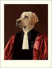 "THIERRY PONCELET ""The Advocate"" dog judges robes PRINT SIZE:86cm x 66cm NEW"