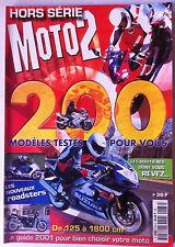 Moto 2 Hors Série n°136; Teste 200 modèles de 125 à 1800 cm3; Le guide