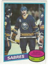 1980-81 OPC HOCKEY #80 GILBERT PERREAULT - EXCELLENT-