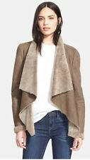 Auth NWT VINCE Cascade Genuine Shearling Jacket Coat Sz Medium 8-10$1475 CURRENT