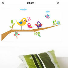 Wall Stickers Wall Decals Singing Funny Birds 7236