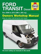 Haynes Ford Transit Diesel Nov 2006 - 2013 Manual 5629 Nuevo