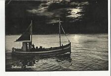84160 bellaria al tramonto con vecchia barca da pesca