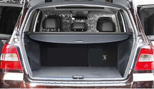 Rear Trunk Shade Cargo Cover for 2013-2015 Mercedes-Benz GLK Class GLK350 Black
