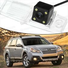 4 LED CCD Rearview Camera Reverse Parking Backup for Subaru Outback 2010-2014