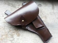 Original Russian Soviet TT 33 Tulskiy Tokarev leather holster with cleaning rod