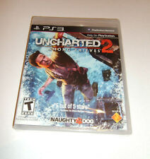 PS3 Uncharted 2 Among Thieves Black Label First Print Factory Sealed w/ Scuff