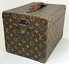 Louis Vuitton Suitcase Trunk Luggage Hard Case Keys Cosmetic Flacons Box 1161